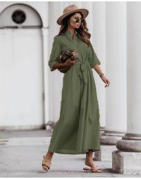 Obleka - koda 0900 - olivna