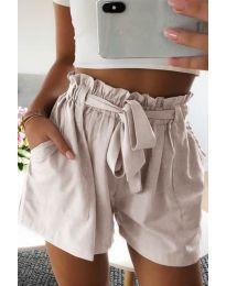 Kratke hlače - koda 3637 - bež