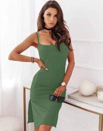 Obleka - koda 7783 - olivna