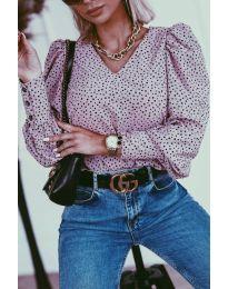 Bluza - koda 3250 - vijolična