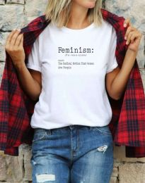Majica - koda 0272 - bela