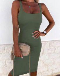 Obleka - koda 8899 - olivna