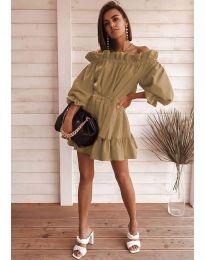 Obleka - koda 3386 - rjava