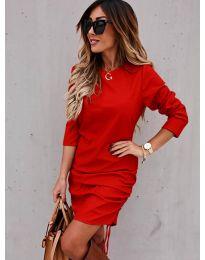 Obleka - koda 8293 - rdeča