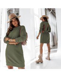 Obleka - koda 129 - olivna