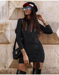 Obleka - koda 9545 - črna