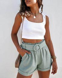 Kratke hlače - koda 8164 - menta