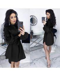 Obleka - koda 6364 - črna