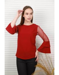 Bluza - koda 0643 - 2 - bordo