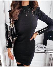 Obleka - koda 8484 - črna