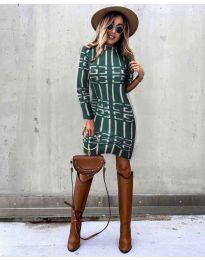 Obleka - koda 0258 - olivna