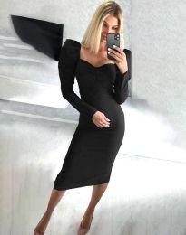 Obleka - koda 3865 - črna