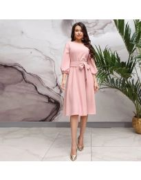 Obleka - koda 4571 - roza