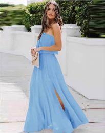 Obleka - koda 8871 - svetlo modra
