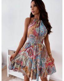 Obleka - koda 3858 - večbarvna