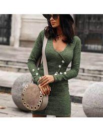 Obleka - koda 4516 - olivna
