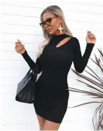 Obleka - koda 11411 - 1 - črna