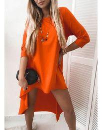 Obleka - koda 1613 - oranžna