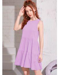 Obleka - koda 4471 - svetlo vijolična