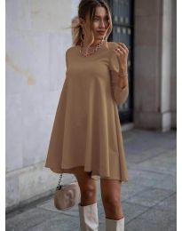 Obleka - koda 371 - кapučino