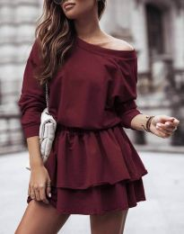 Obleka - koda 0525 - bordo