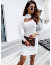 Obleka - koda 883 - bela