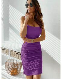 Obleka - koda 603 - vijolična