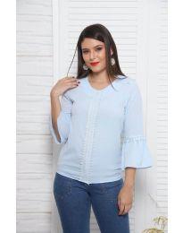 Bluza - koda 0629 - 3 - svetlo modra