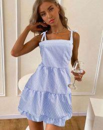 Obleka - koda 0316 - svetlo modra