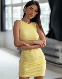 Obleka - koda 11795 - rumena