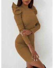 Obleka - koda 9303 - rjava
