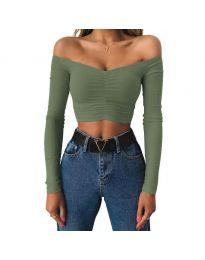 Bluza - koda 4120 - zelena