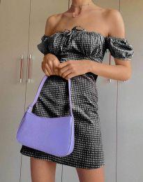 Obleka - koda 2594 - 2 - črna