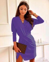 Obleka - koda 2058 - vijolična