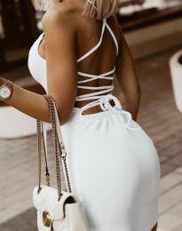 Obleka - koda 7391 - bela