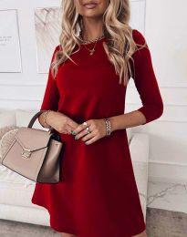 Obleka - koda 8201 - rdeča