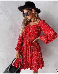 Obleka - koda 2940 - večbarvna
