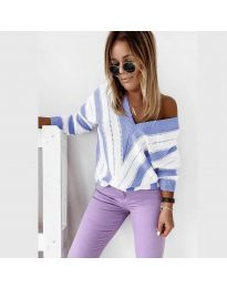 Bluza - koda 0907 - svetlo modra