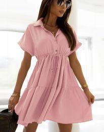 Obleka - koda 6292 - roza