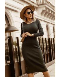Obleka - koda 8485 - črna