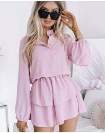 Obleka - koda 4093 - roza