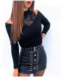 Bluza - koda 4254 - črna