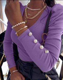 Bluza - koda 2065 - vijolična