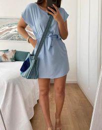 Obleka - koda 2258 - svetlo modra