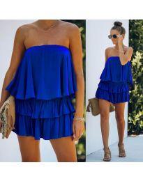 Obleka - koda 0489 - temno modra
