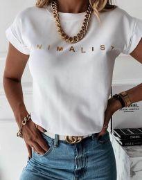 Majica - koda 4078 - bela