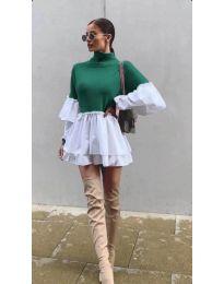 Obleka - koda 1188 - zelena