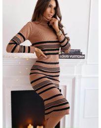 Obleka - koda 5980 - 1 - večbarvna
