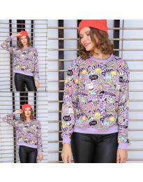 Bluza - koda 1471 - 6 - vijolična