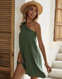 Obleka - koda 7003 - olivno zelena